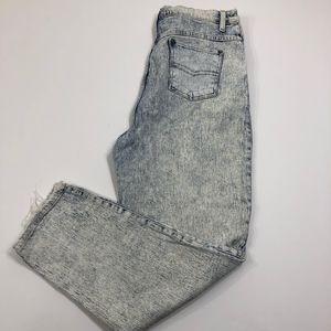 Vintage Sasson 80's Acid Wash Hi-Rise Jeans Sz 14